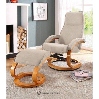 Bēšs grozāms krēsls (zāles paraugs)