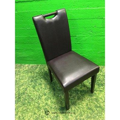 Tumepruun nahkkattega tool (Saalinäidis, Terve)