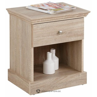 Brown 1 drawer nightstand (binz)