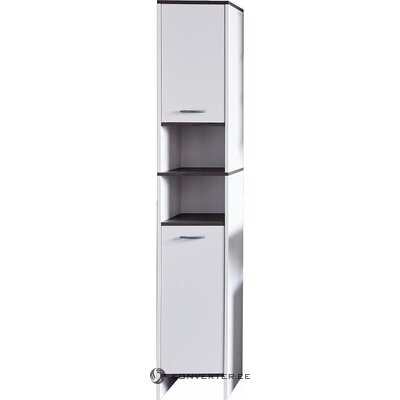 White narrow cabinet (san diego) (box, whole)