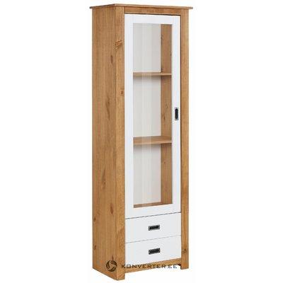 Ariel Cabinet - White/Stain/Wax