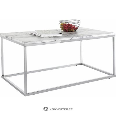 Gray wide sofa table