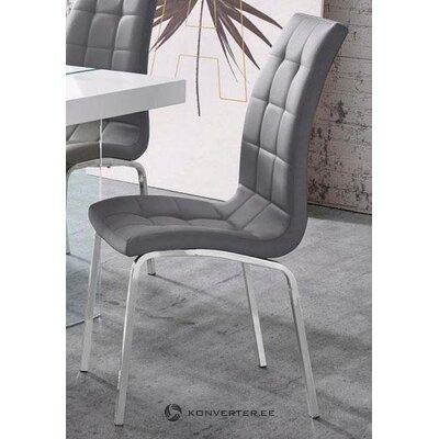Серый мягкий стул (здоровый образец)