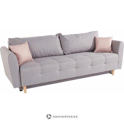 Šviesiai pilka sofa-lova (inosign) (visa, dėžutėje)