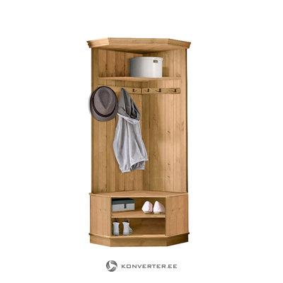 Monroe Corner wardrobe - Stain/Wax