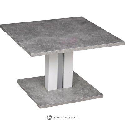 Серый регулируемый по высоте диван-стол (полный, в штучной упаковке)