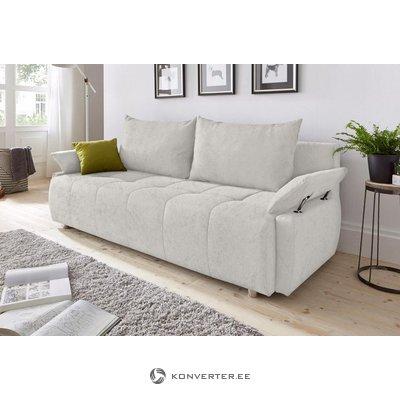 Серебряный диван-кровать (образец зала, с косметическим жучком)