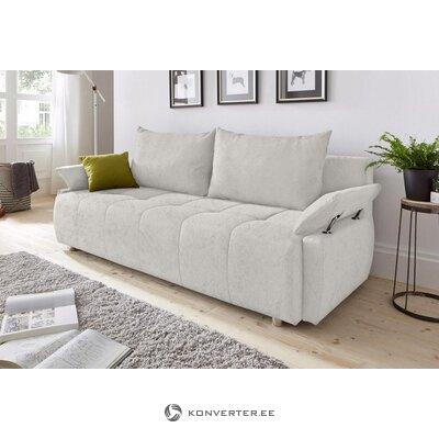 Sidabrinė sofa-lova (visa, dėžutėje)