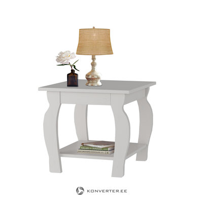 Maria lamp table - WHITE