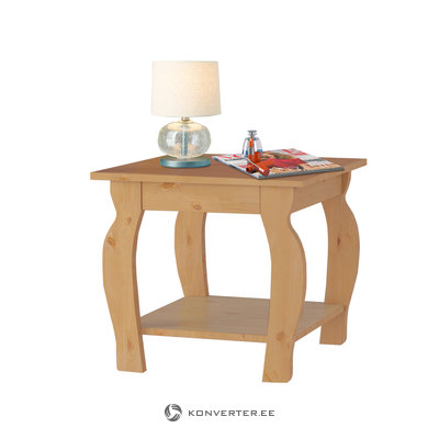Maria lamp table - STAIN WAX