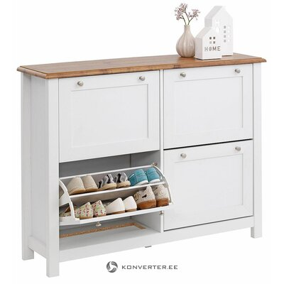 Shoe cabinet white (whole, in box)