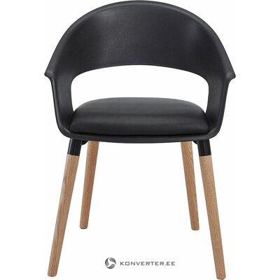 Melni brūns krēsls (veselīgs, paraugs)