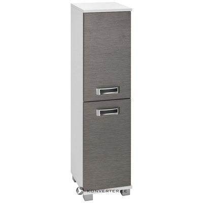 Gray-white cabinet with 2 doors