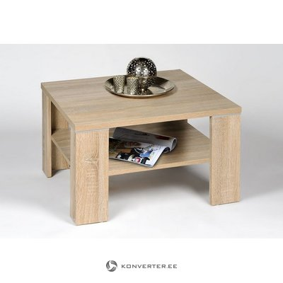 Small coffee table with shelf (inosign) (whole, in box, light brown)