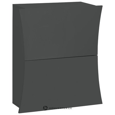 Gray High Gloss Shoe Cabinet (Whole, In Box)