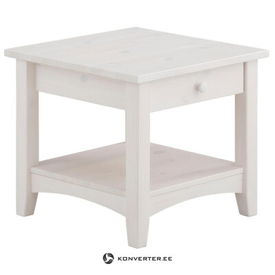 Chub Couchtable 1 drawer Small -White