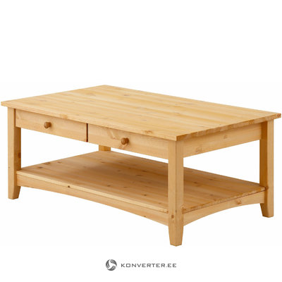 Chub Couchtable 2 drawers Large -Stain/Wax