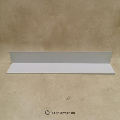 White wall shelf (width 94cm) (hall sample, with beauty defect,)
