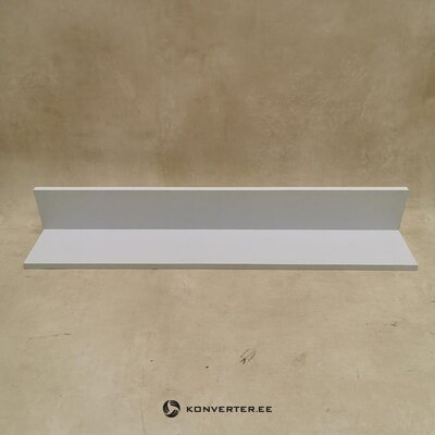 White wall shelf (width 94cm) (hall sample, with beauty defect)