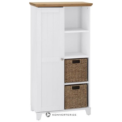 White-brown closet with 2 baskets (amigo)
