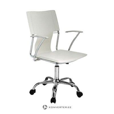 Baltoji biuro kėdė lūšis (tomasucci)