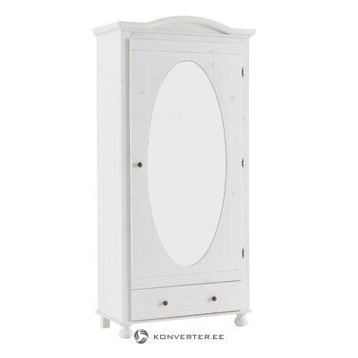Hardy spintelė balta / veidrodis - baltas / lakas
