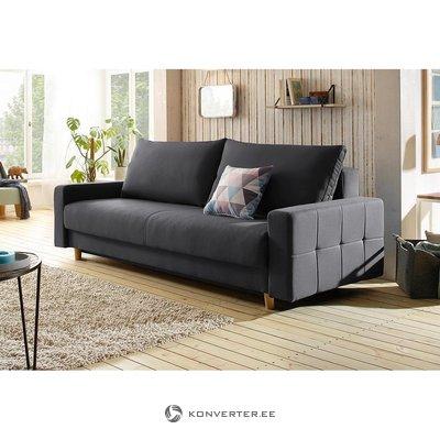 Антрацитовый диван (падуа) (немного грязно)