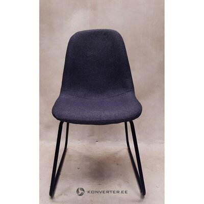 Gray-black chair (whole, in box)