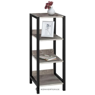 Gray-black bathroom shelf (chris) (box, healthy,)
