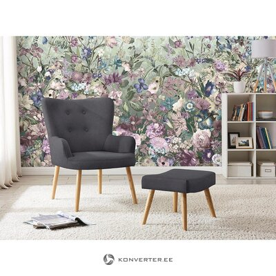 Gray armchair steep (lavent)