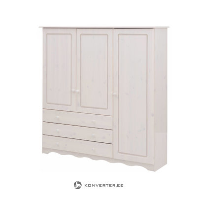 Amanda linen cabinet 3 doors/3 drawers - white