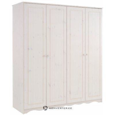 Amanda Wardrobe 4 Doors white lacquer