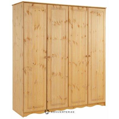 Amanda Wardrobe 4 Doors stain/wax
