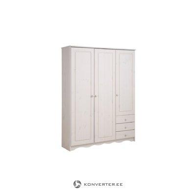 Amanda Shoe Cabinet 160 cm white lacquer