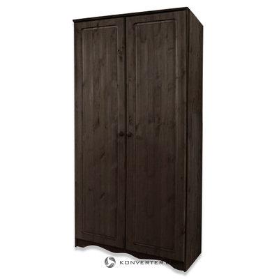 Amanda Wardrobe 2 Doors Havana lacquer