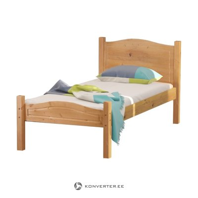 Barney Bed 90x200 cm Stain/wax