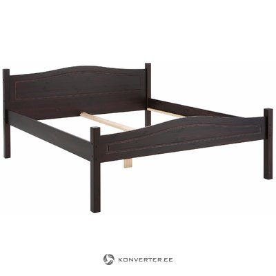 Barney Bed 140x200 cm Havana lacquer