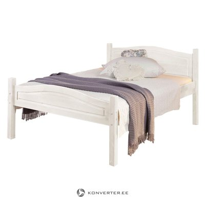 Barney Bed 160x200 cm white lacquer