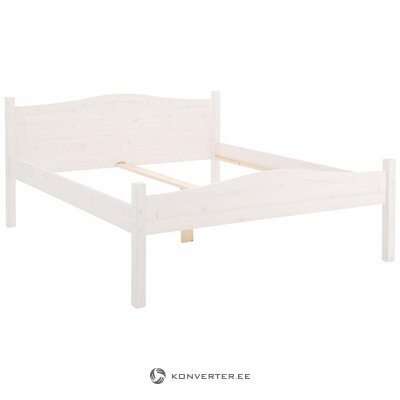 Barney Bed 180x200 cm white lacquer