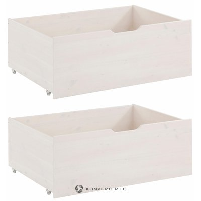 Barney Drawer Set white lacquer