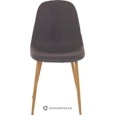 Dark gray-brown chair (in box, whole)