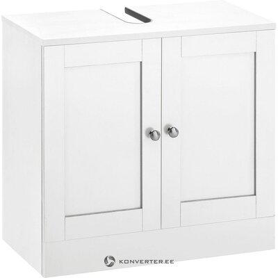 White washbasin cabinet (kira)