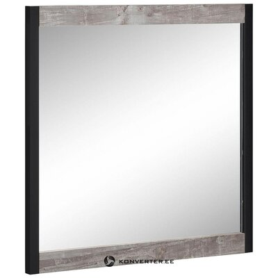 Gray-black wall mirror (intact hall sample)