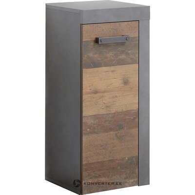 Brown-gray bathroom cabinet (indy) (box, whole)