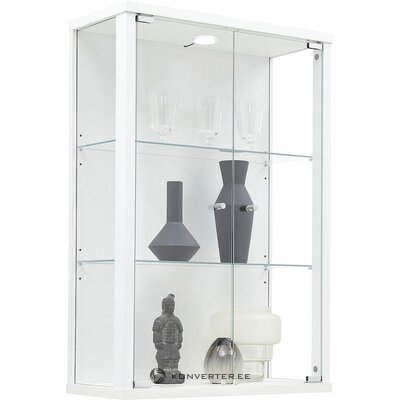 White display cabinet (optima)