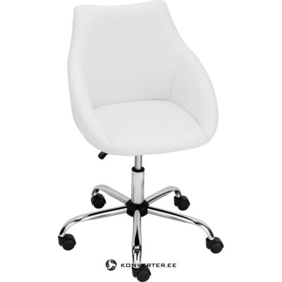 Стул офисный белый (дилан)