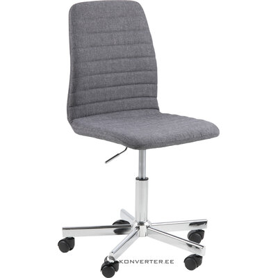 Gray office chair amanda (actona) (whole, hall sample)