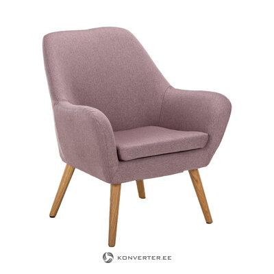 Violetti-vaaleanpunainen nojatuoli astro (actona) (laatikossa, koko)