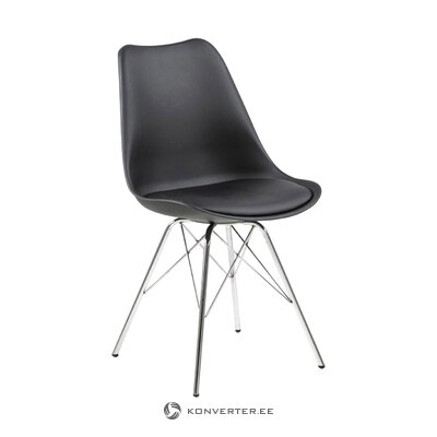 Melns krēsls Eris (Actona)