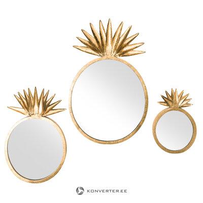 Sienas spoguļu komplekts 3 gab. Yara (Anderson) (ar skaistuma defektiem, zāles paraugs)